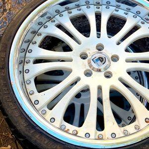 Rims w/ tires